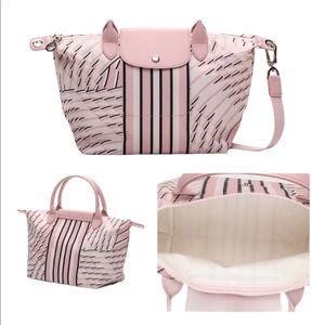NEW Authentic LONGCHAMP Medium Pastel pink…